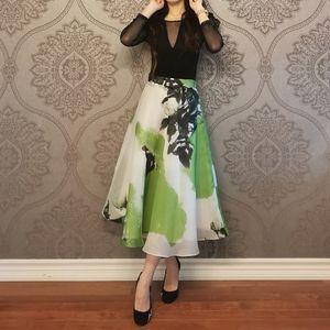 Custom made 100% silk skirt